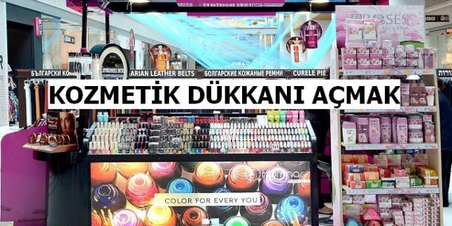 Kozmetik Dükkânı Açarak Para Kazanmak
